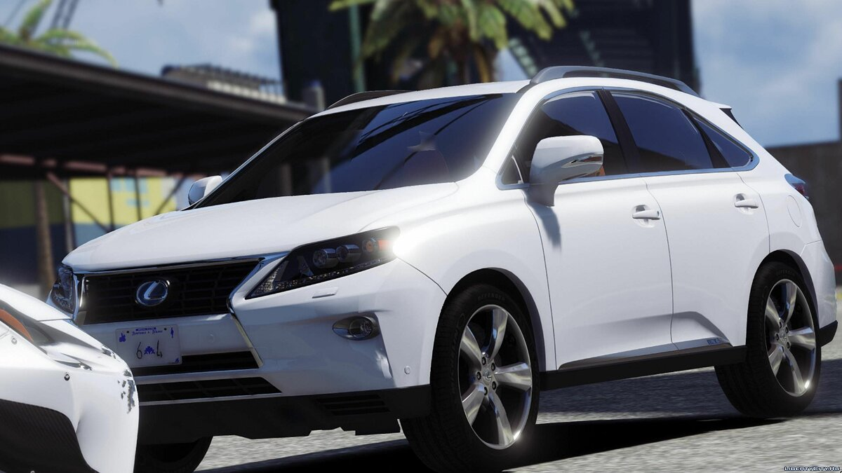 2015 LEXUS RX450h [Add-on/Replace] 2.0 для GTA 5 - скриншот #4