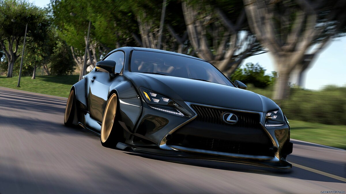 ��ашина Lexus Lexus RC350 Rocket Bunny [Replace | Add On] 1.9 для GTA 5