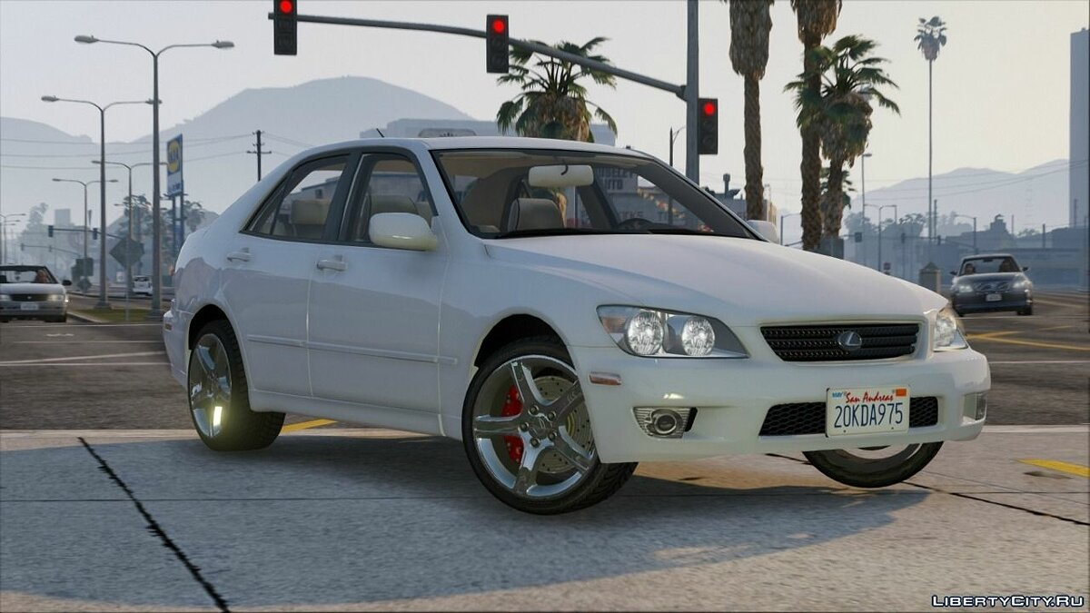 Машина Lexus Lexus IS300 Tunable 1.0 для GTA 5