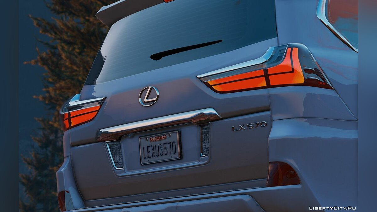 Lexus LX570 2016 [Add-On / Replace] 1.3 для GTA 5 - скриншот #5