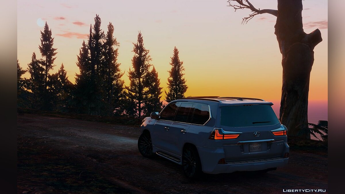 Lexus LX570 2016 [Add-On / Replace] 1.3 для GTA 5 - скриншот #7