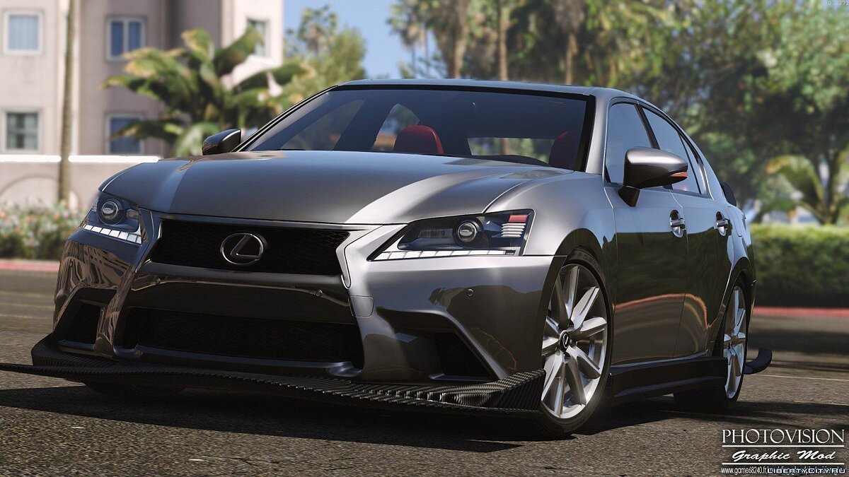 Lexus GS 350 [Add-On / Replace | Tuning | Template] 3.0 для GTA 5