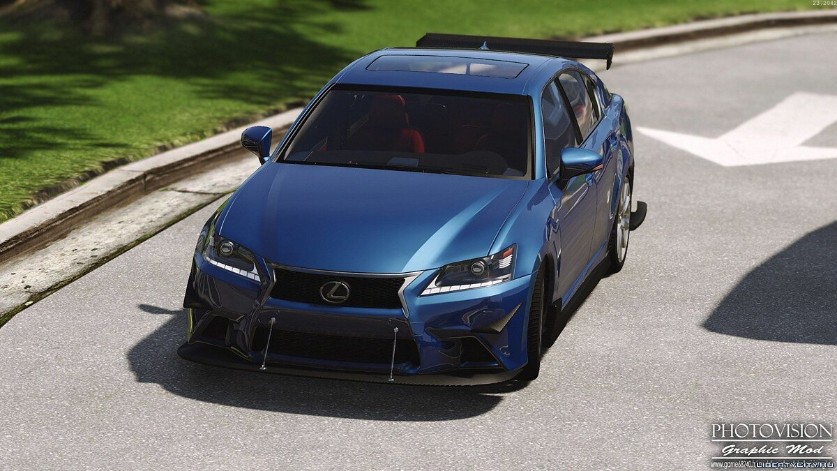Lexus GS 350 [Add-On / Replace | Tuning | Template] 3.0 для GTA 5 - скриншот #10