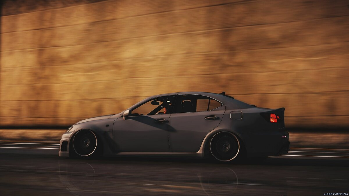 Машина Lexus 2008 Lexus IS-F [Replace | Add on ] 1.0 для GTA 5