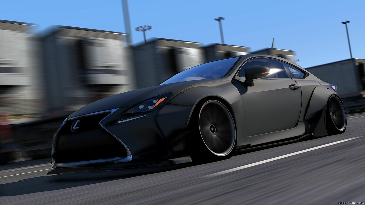 Машина Lexus Lexus RC350 Rocket Bunny [Replace | Add On] 2.1 для GTA 5