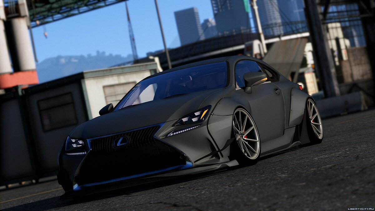 ��ашина Lexus Lexus RC350 Rocket Bunny [Replace | Add On] 2.1 для GTA 5