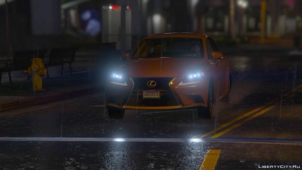 2014 Lexus IS 350 F-Sport для GTA 5 - скриншот #3