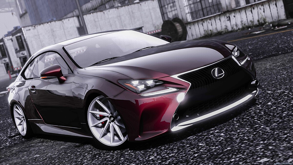 Lexus RC350 [ Add-On / Replace ] 1.0 для GTA 5