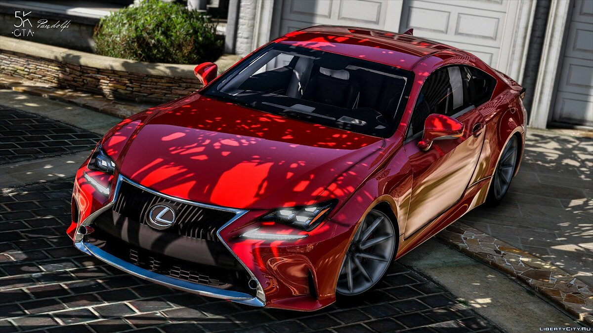 Lexus RC350 [ Add-On / Replace ] 1.0 для GTA 5 - скриншот #3