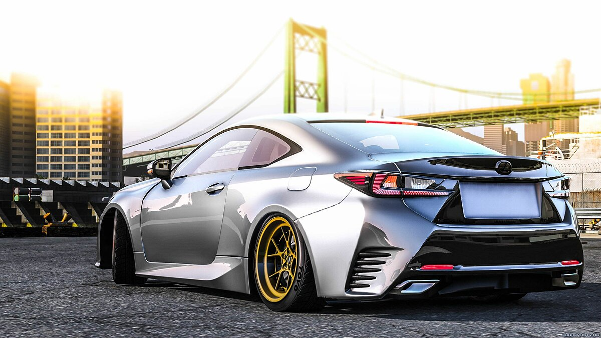 Lexus RC350 [ Add-On / Replace ] 1.0 для GTA 5 - скриншот #4