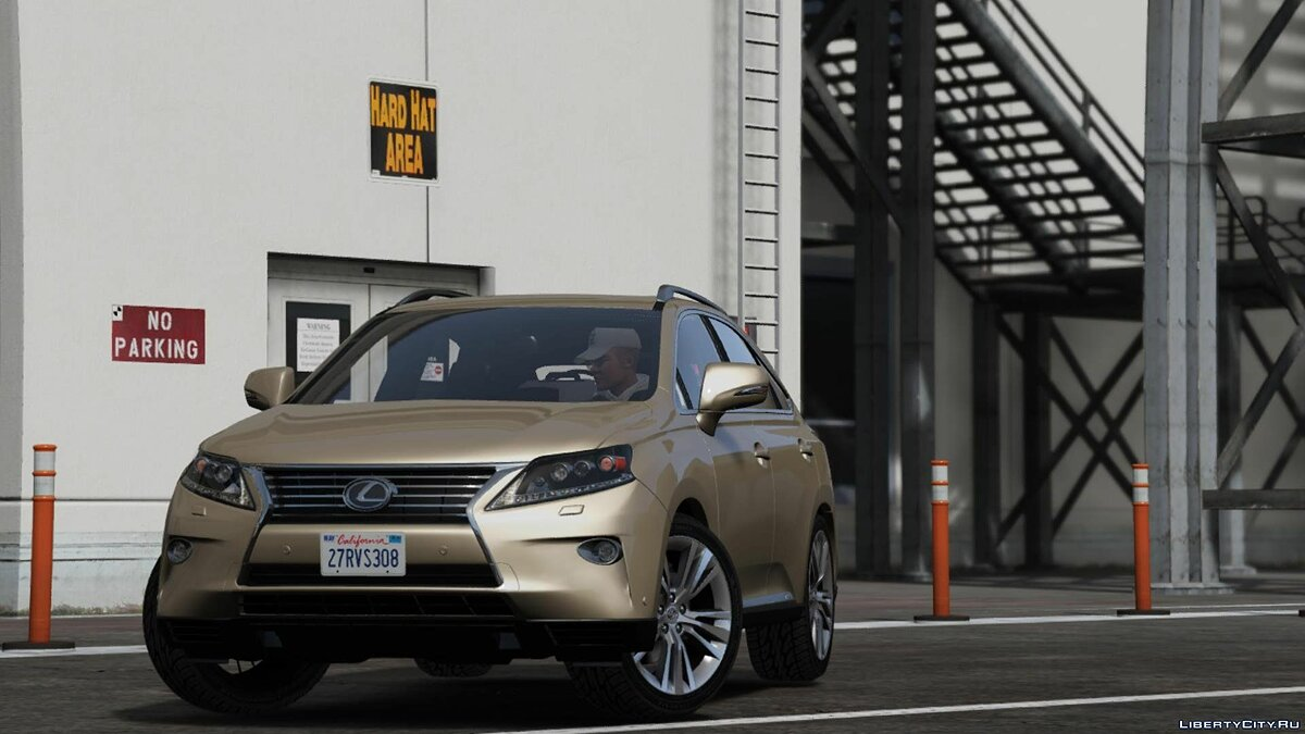 Машина Lexus 2014 LEXUS RX350 LUXURY [ Replace ] 1.0 для GTA 5