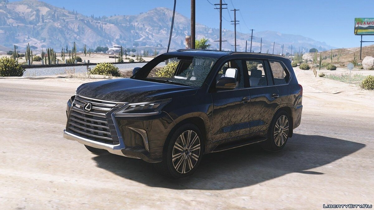 2016 Lexus LX 570 [Add-On / Replace] [FINAL] для GTA 5 - скриншот #6
