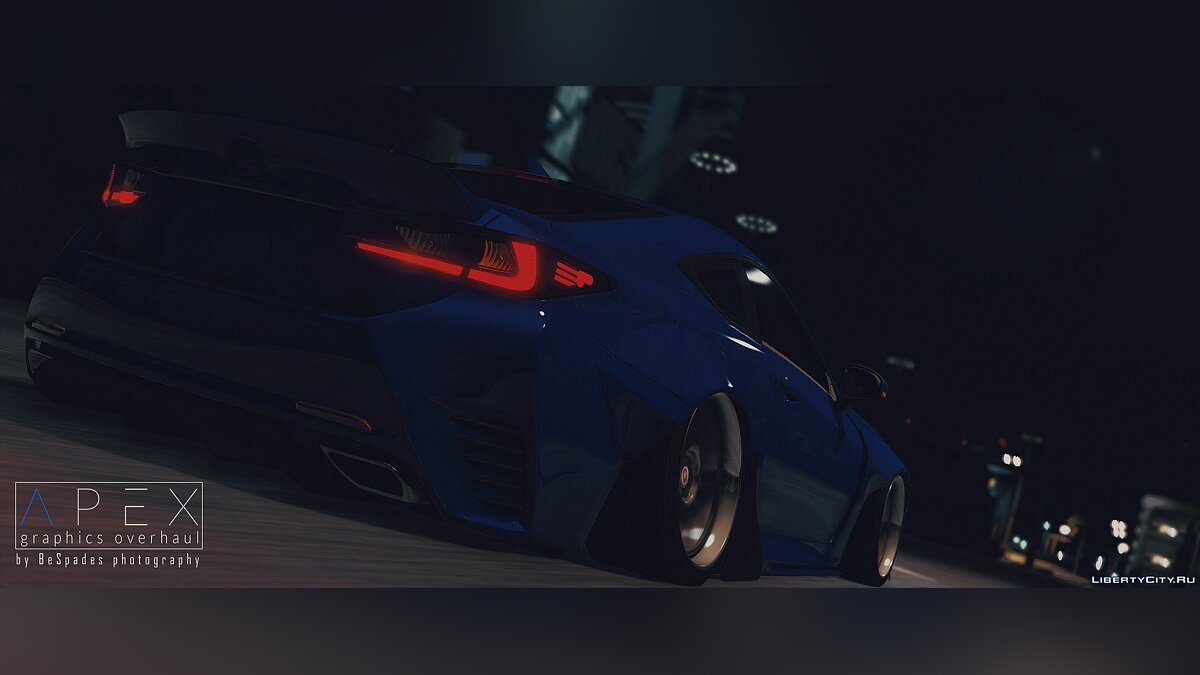 ��ашина Lexus Lexus RC350 Rocket Bunny [Replace | Add On] 2.0 для GTA 5