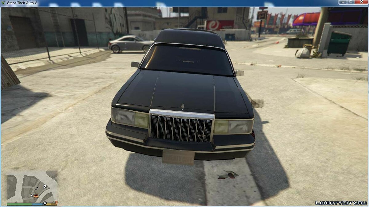 Машина Lincoln Lincoln Town Car Hearse 1991 [BETA] для GTA 5