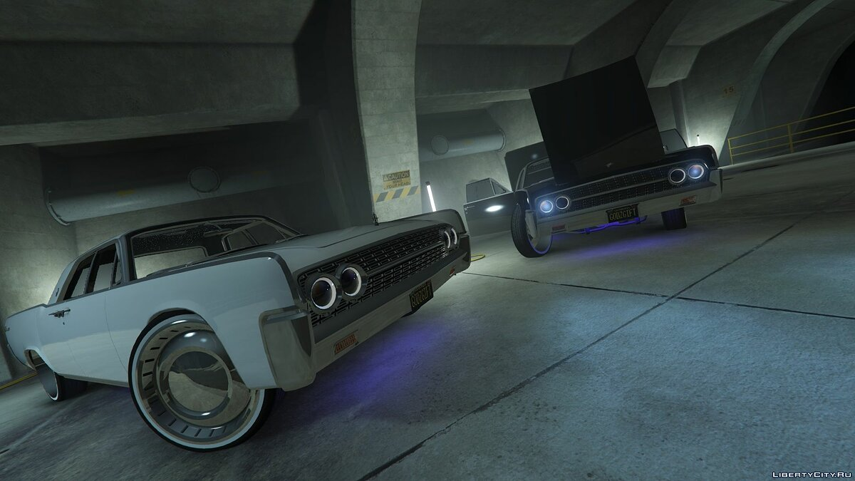 Машина Lincoln 1962 Lincoln Continental [Add-On | Replace] 1.0 для GTA 5