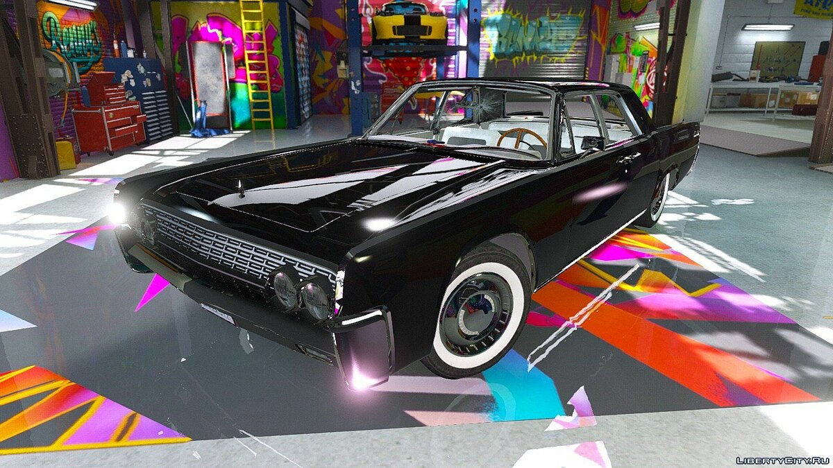 Машина Lincoln Lincoln Continental Sedan 1962 [Replace] 2.0 для GTA 5