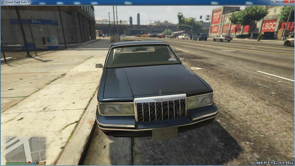 Машина Lincoln Lincoln Town Car 1991 [BETA] для GTA 5