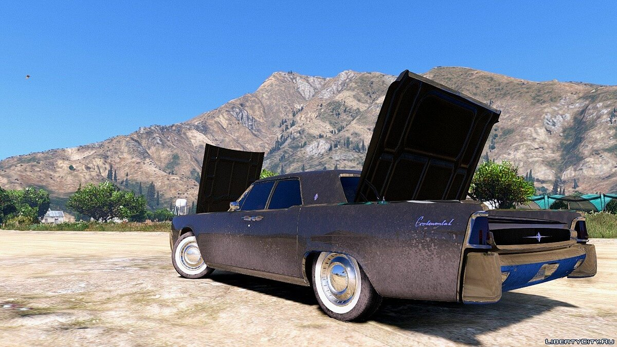 Машина Lincoln Lincoln Continental Sedan 1962 [REPLACE/ADDON] v1.2 для GTA 5