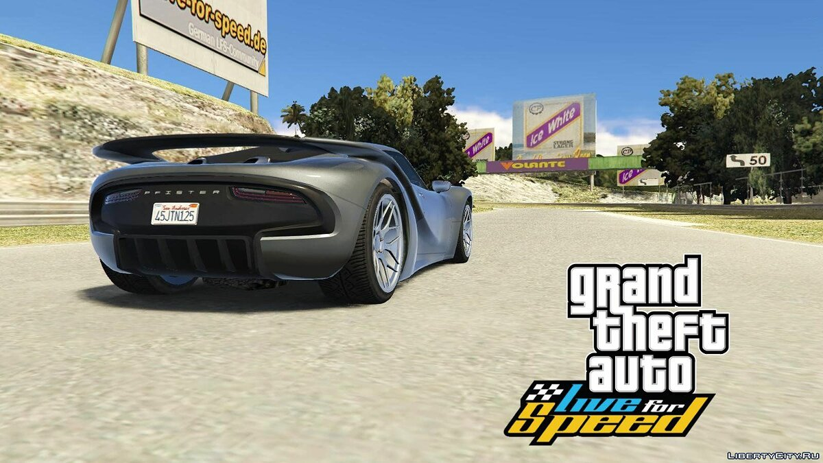 GTA: Live for Speed - Fern Bay Racetrack 1.1 для GTA 5