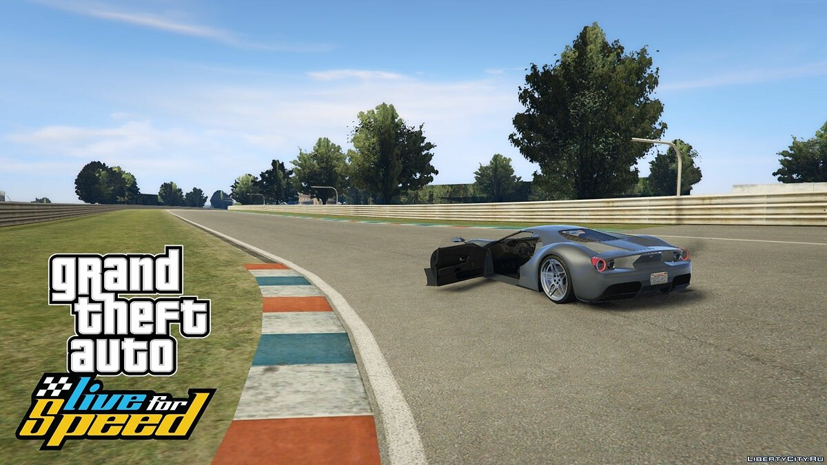 GTA: Live for Speed - Aston Racetrack 1.2 для GTA 5
