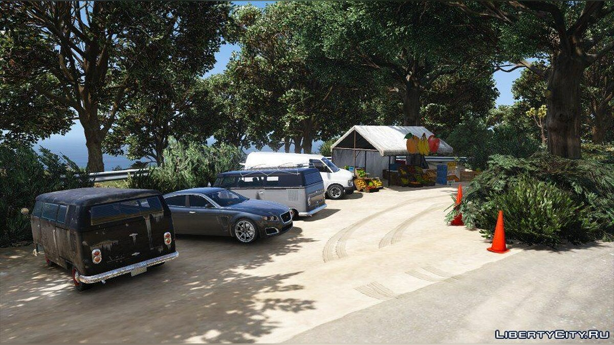 "Новый остров Projet ""Embelia"" (Add-on) 1.0 для GTA 5"