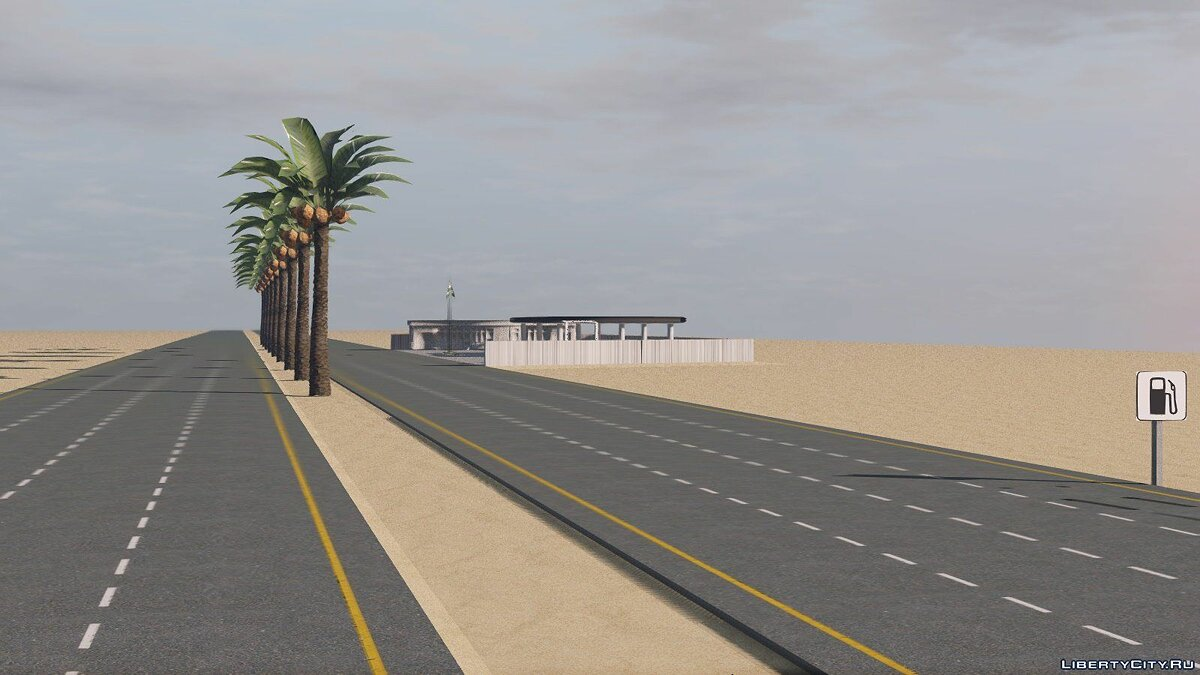Arab Drift Highway [Add-On] для GTA 5