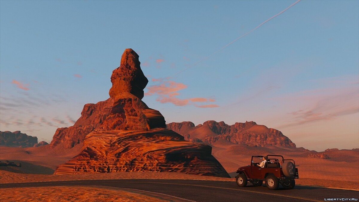 Новый остров Red Dead Desert [Add-On] для GTA 5