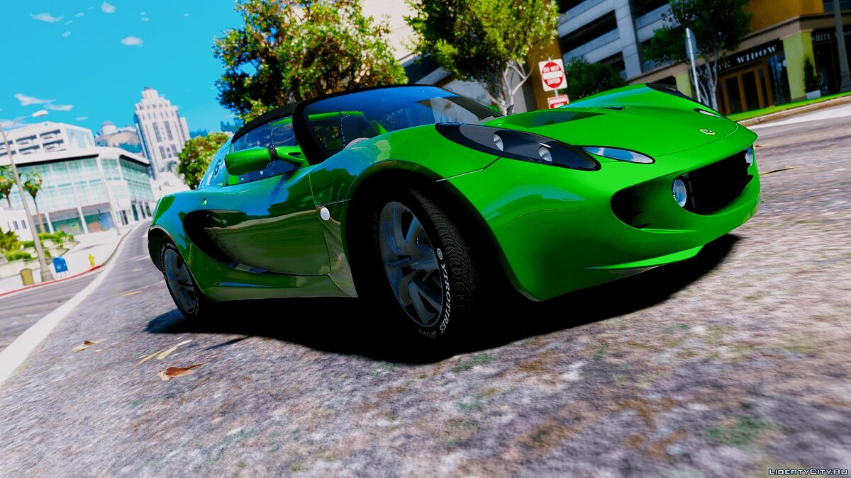 Машина Lotus Lotus Elise 111S 2005 [Add-On / Replace | OIV | Tuning | Template | Wiper | Dirtmap | Animated Engine | HQ] 1.0 для GTA 5