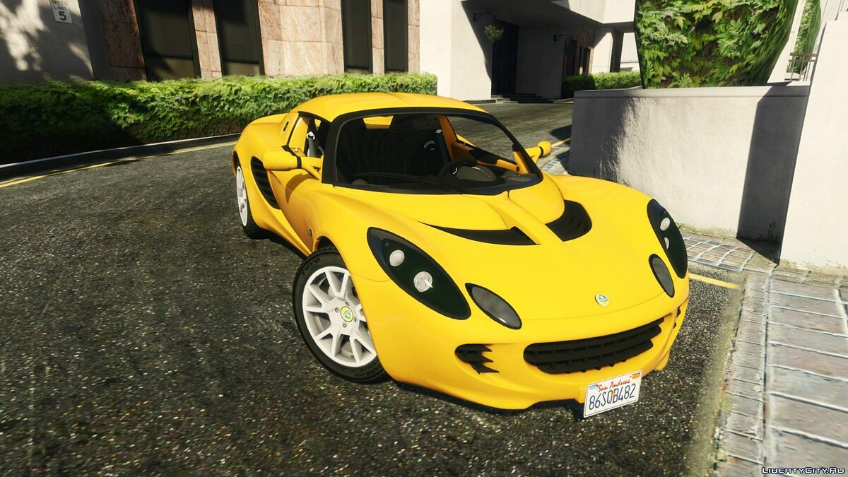 Lotus Elise 2006 [HQ / Tuning /Handling / Template] для GTA 5 - скриншот #6