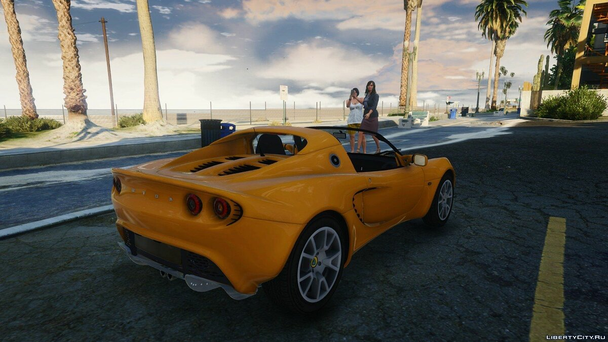 Lotus Elise 2006 [HQ / Tuning /Handling / Template] для GTA 5 - скриншот #7