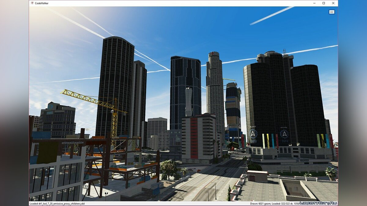 Программа CodeWalker GTA V 3D Map + Editor v.28 для GTA 5
