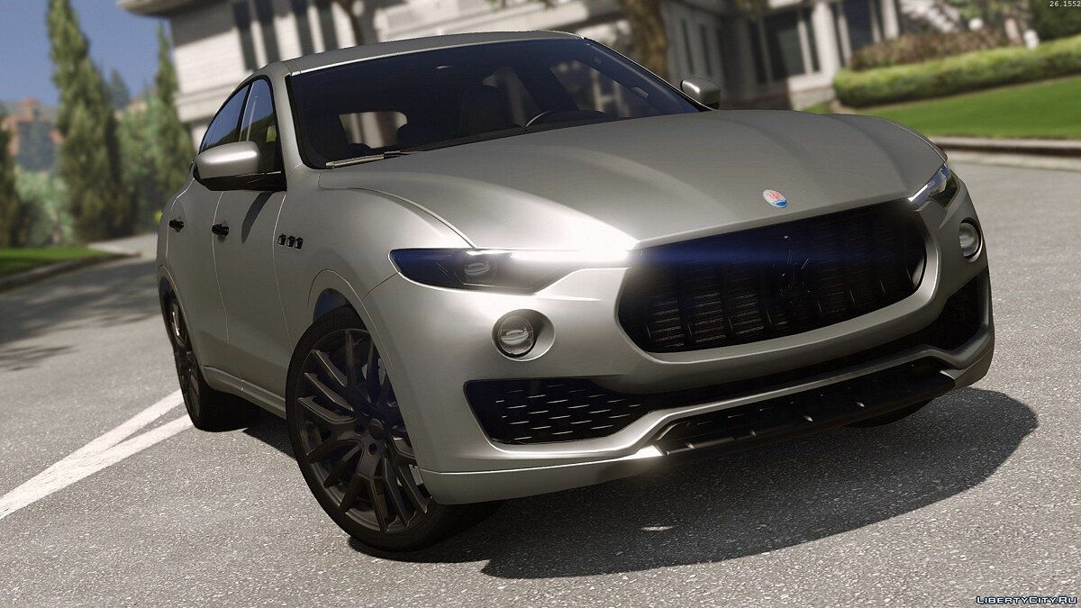��ашина Maserati Maserati Levante [Add-On / Replace] для GTA 5