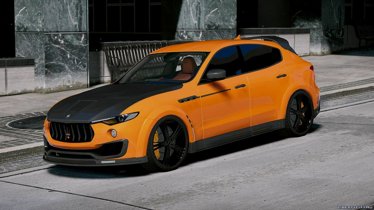 Машина Maserati Maserati Levante Mansory [Add-On/Replace] 1.1 для GTA 5