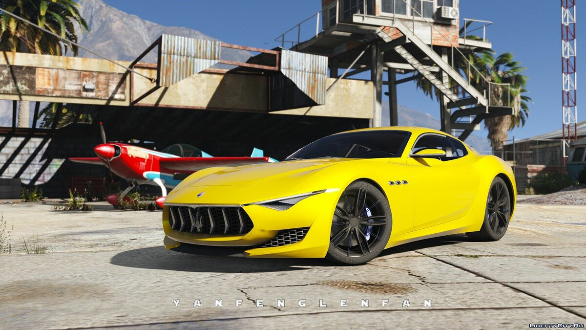 Машина Maserati Maserati Alfieri 2014 Concept Car [ Add-On | Digital gear | HQ] 2.0 для GTA 5