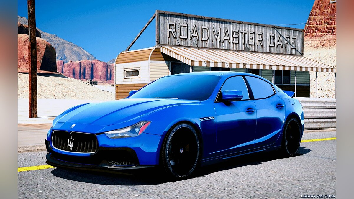 2014 Maserati Ghibli [Add-On | Tuning] 1.2 для GTA 5 - скриншот #2
