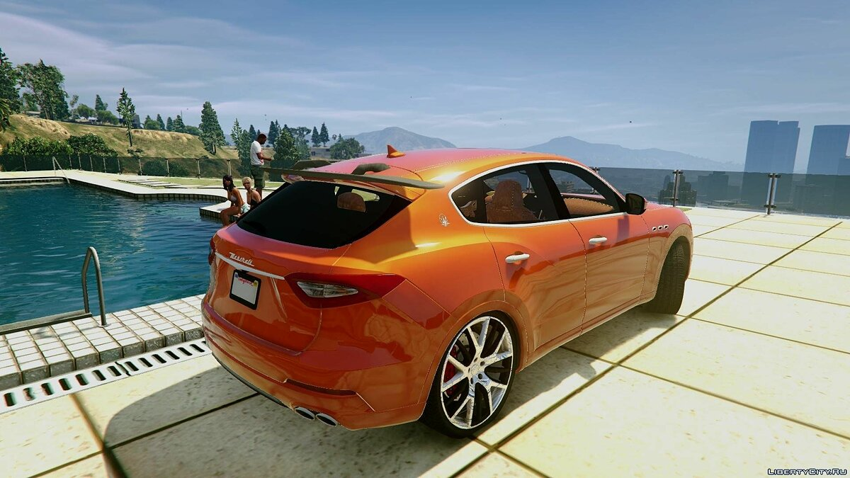��ашина Maserati 2017 Maserati Levante [Add-On / Replace | Unlocked | Extras] 1.0 для GTA 5