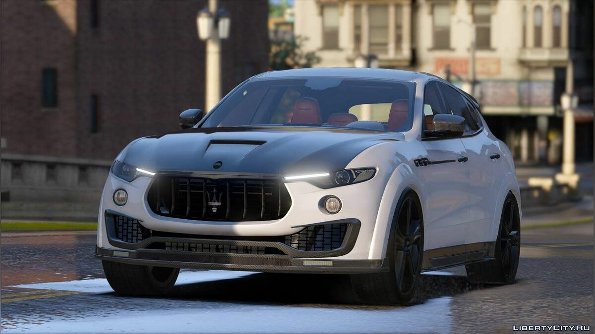 Машина Maserati MaseratI Levante Mansory [Add-On] 1.01 для GTA 5