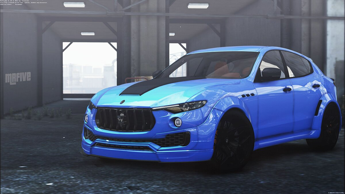 Машина Maserati Maserati Levante Novitec [Add-on] 1.0 для GTA 5