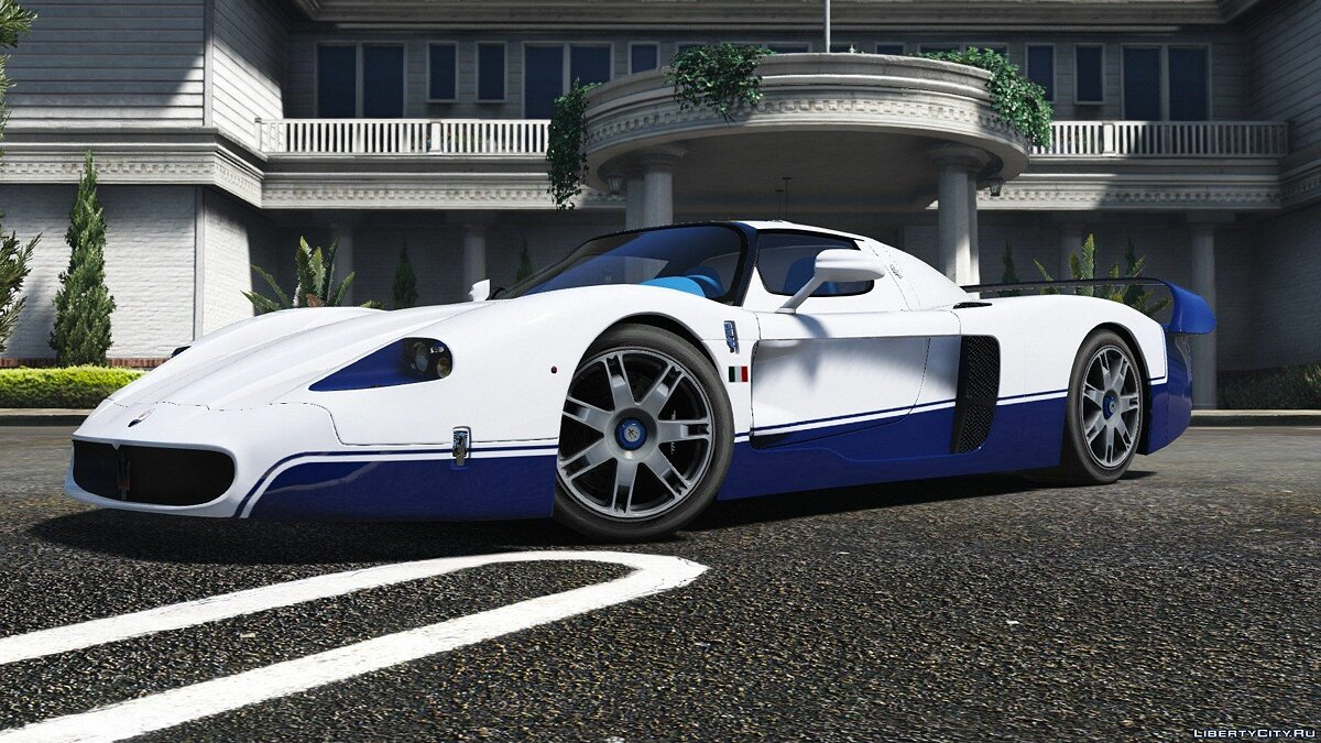 ��ашина Maserati Maserati MC12 [Add-On | Tuning | Template] для GTA 5