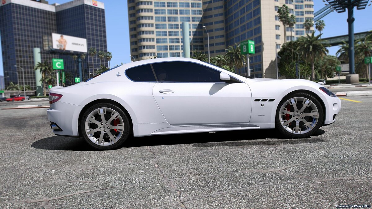 Машина Maserati Maserati GranTurismo S [Add-On / Replace] 1.0 для GTA 5