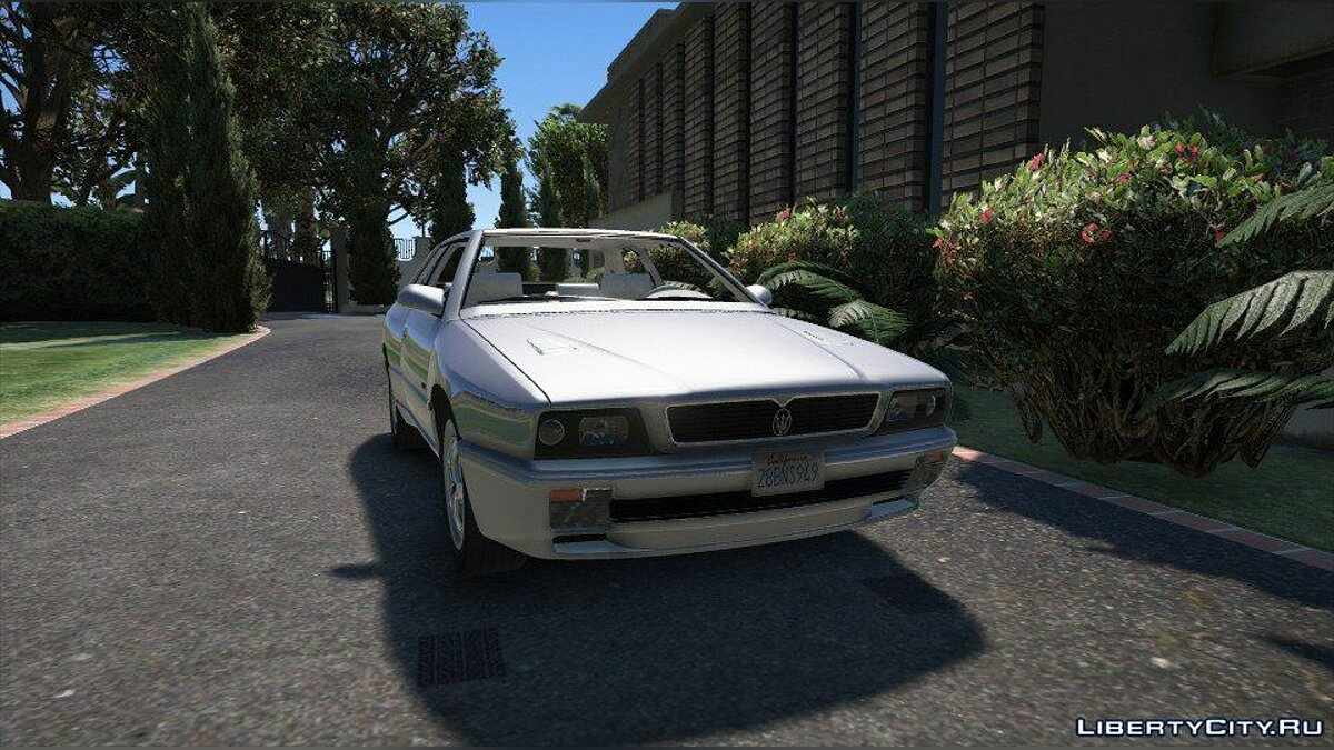 Машина Maserati Maserati Ghibli II (Add-on/Replace) 1.0 для GTA 5