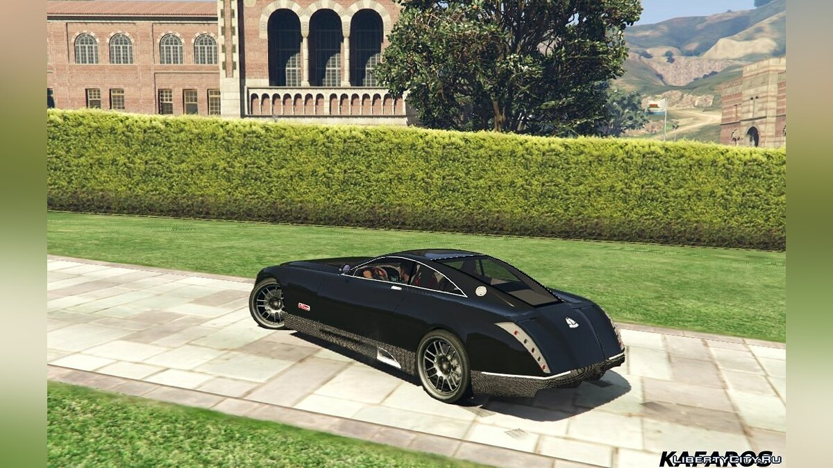 Maybach Exelero 0.5 для GTA 5 - скриншот #2