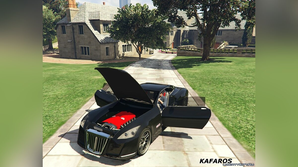 Maybach Exelero 0.5 для GTA 5 - скриншот #3