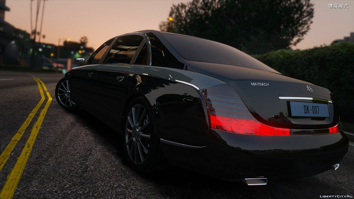 Машина Maybach Maybach 62S Zeppelin[ADDON and Replace] 1.0 для GTA 5