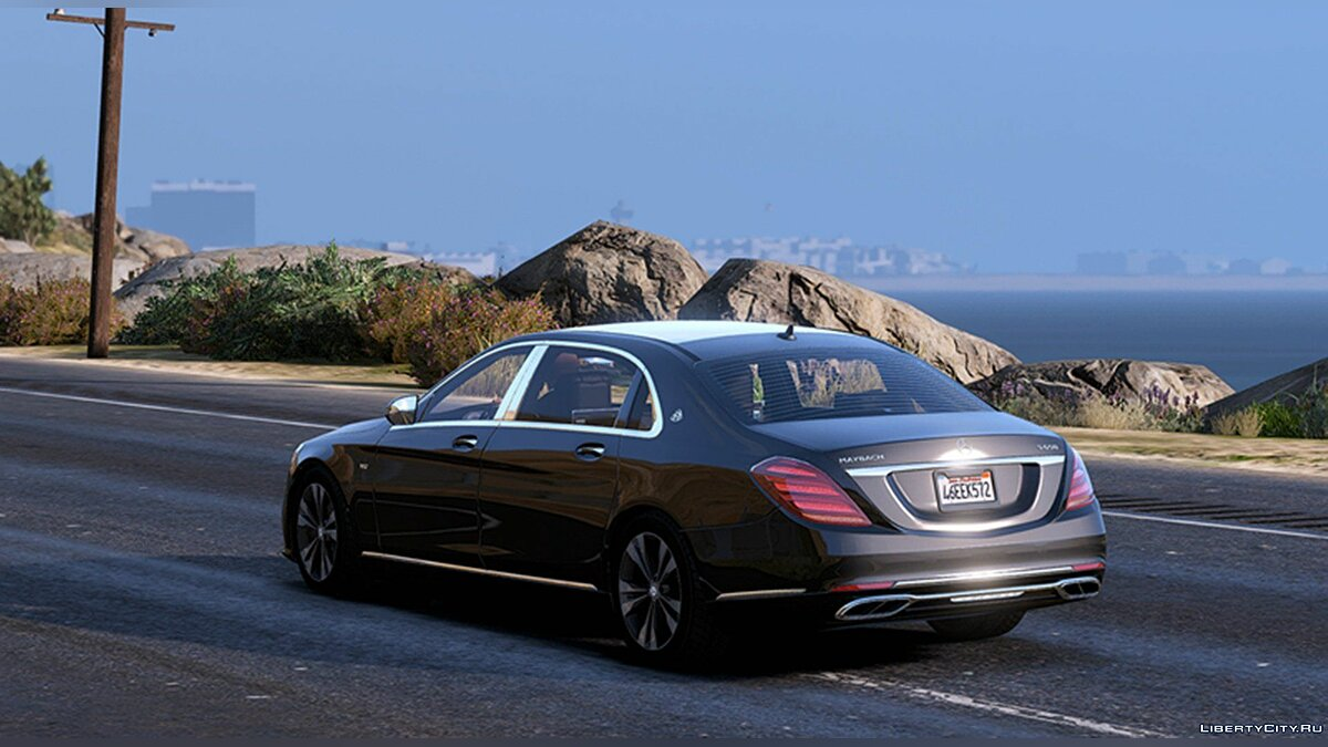 Машина Maybach 2018 MB-Maybach S650 1.0 для GTA 5