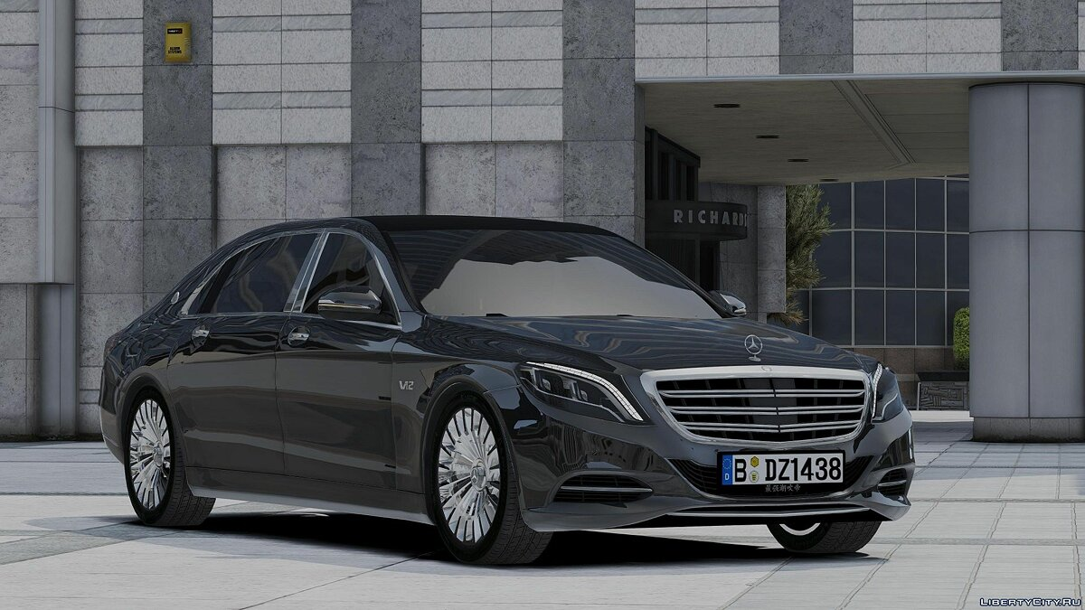 Машина Maybach 2017 Maybach S600L (add-on) 1.0 для GTA 5