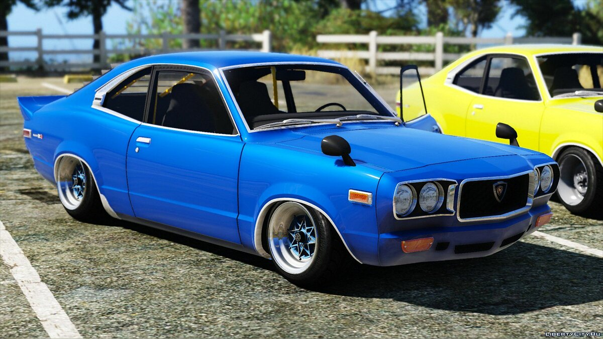 1973 Mazda RX-3 [Add-On] 1.1 для GTA 5