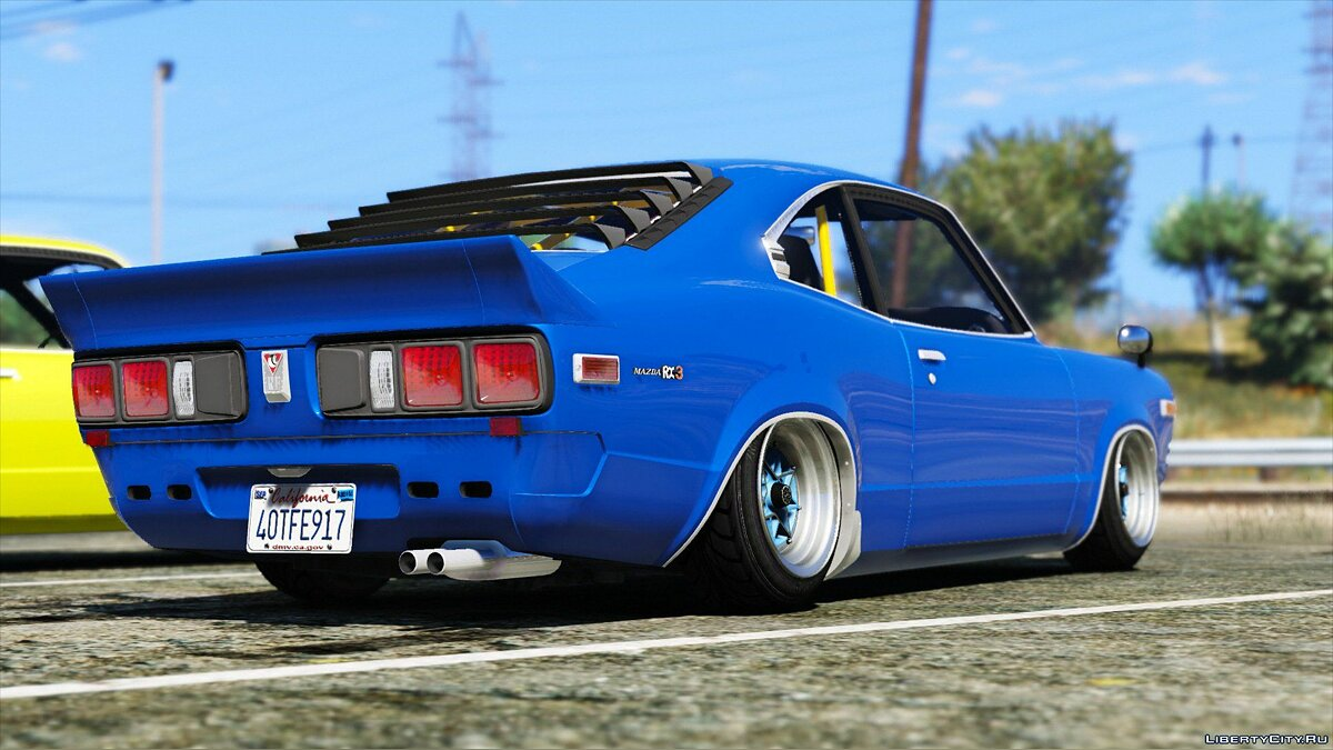 1973 Mazda RX-3 [Add-On] 1.1 для GTA 5 - скриншот #2