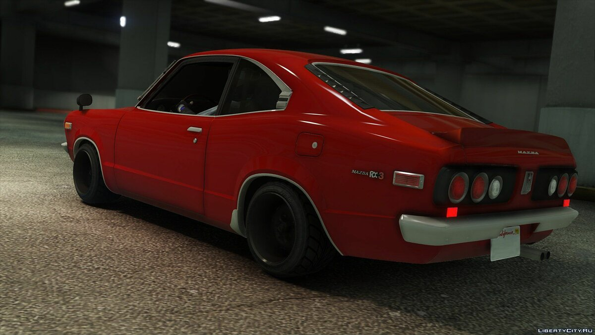 1973 Mazda RX-3 [Add-On] 1.1 для GTA 5 - скриншот #5