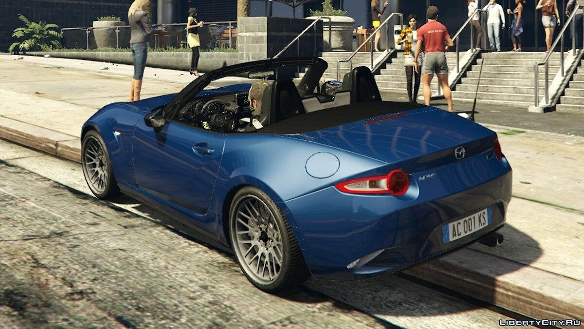 2015 Mazda MX-5 [Add-On] для GTA 5 - скриншот #3